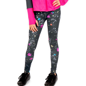 NEW Limeapple Galaxy Girls Leggings 14 Last 1
